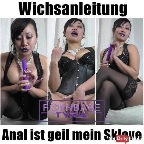 Wichsanleitung - Anal is cool my slave