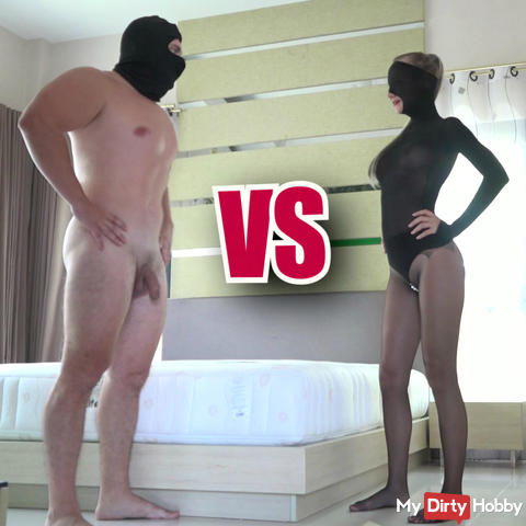 Pantyhose Queen vs. Nemesis - Sexfight for the Championship