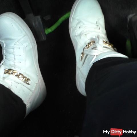 Sneaker / sneakers fetish