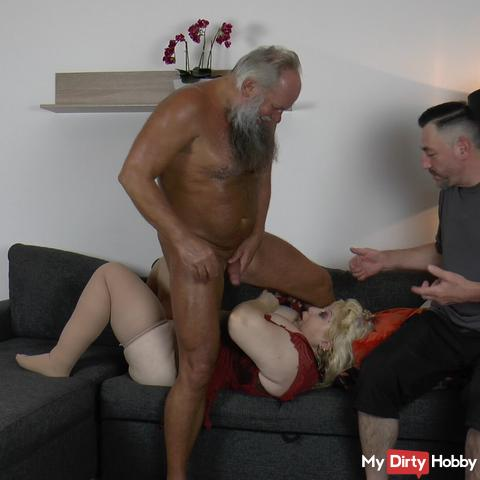 Tits grandmother after going - rewards