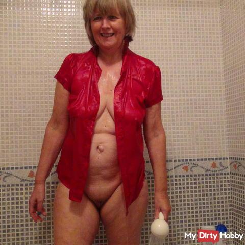 Blusenlust in der Dusch