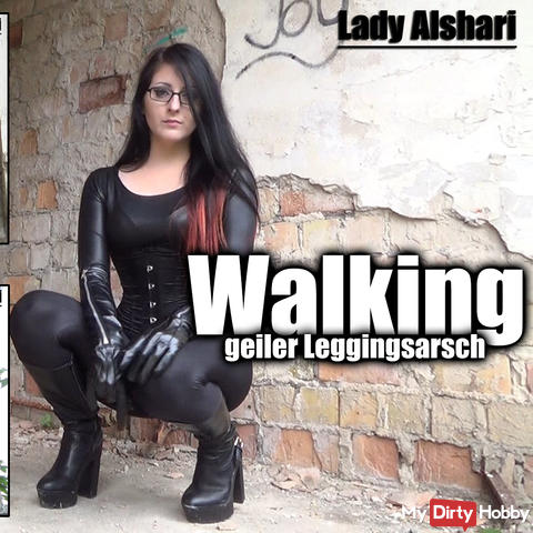 Walking - Geiler Leggingsarsch - sexy ass in leggings