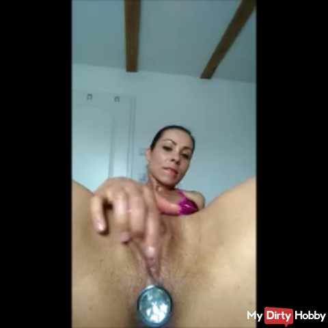 My # horny # toy in my hot #Po