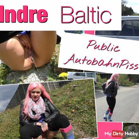 *Public* Autobahn Piss am Rastplatz