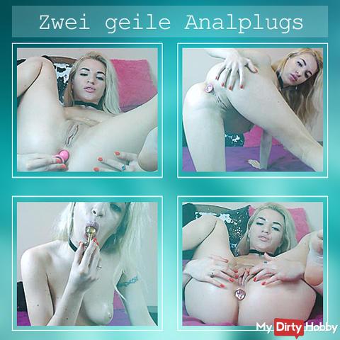 Two horny analplugs