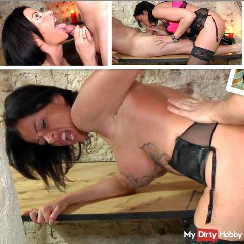 Nasty cellar sex with MILF Dacada