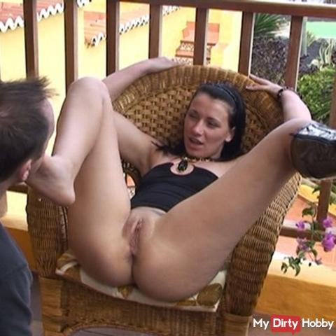 Miss Sandra intimate femdom shot 1