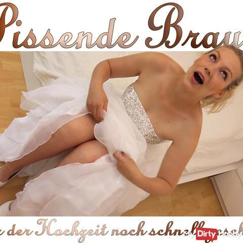 Pissing bride