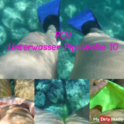 POV Underwater Pipi Cloud 10