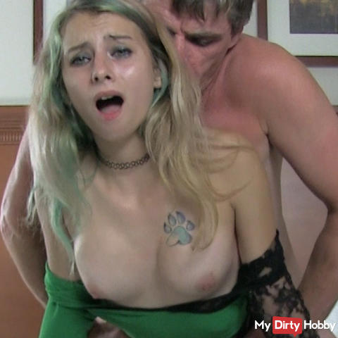 REAL Teen Creampie - She JUST Turned 18