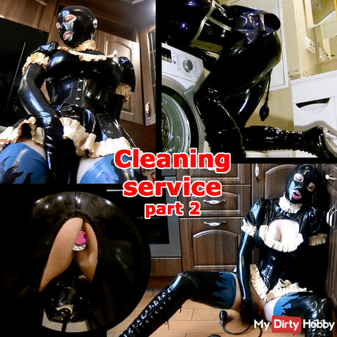 Cleaning service. Part 2.