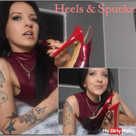 Heels and spit