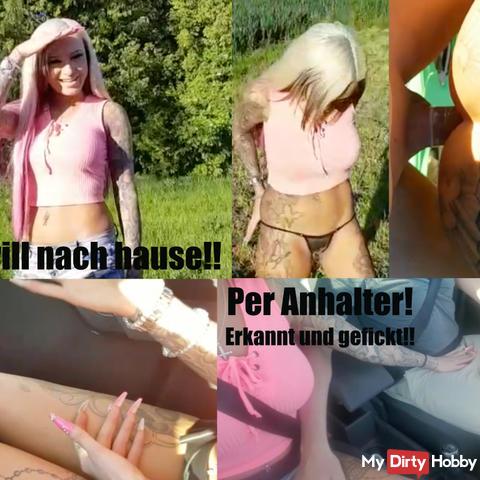Per Anhalter!! Erkannt und gefickt!!