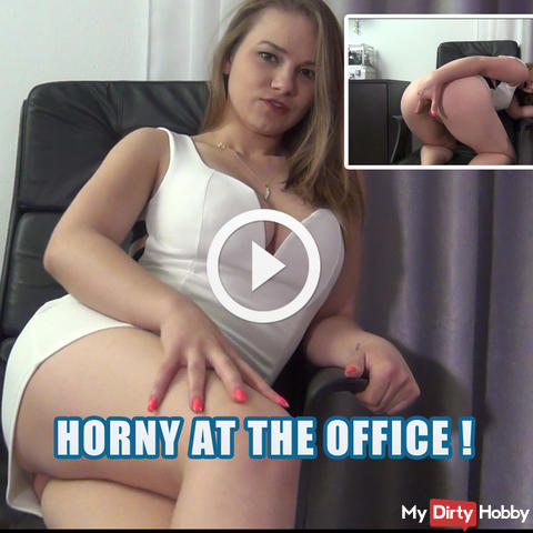 Horny at the office !