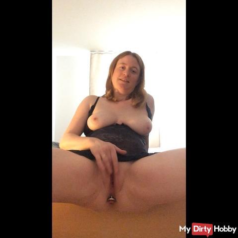 Slut fusses with you