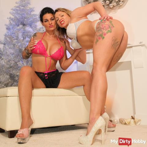 Horny Christmas double surprise for you !!