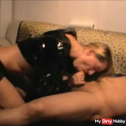 Stepdaughter blows my friend's cock - Part 1 !!!