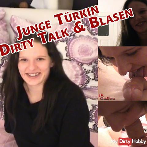 Young Turkish woman - Dirty Talk & Blowjob