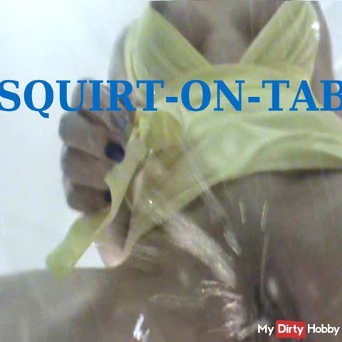 Squirt oh table
