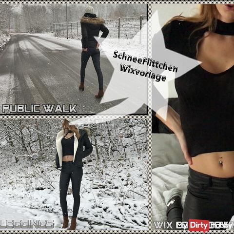 SchneeFlittchen|Wixvorlage in Leggings