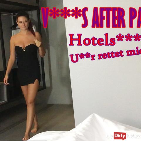 VENUS after Party - Hotelskandal, User rettet mich!