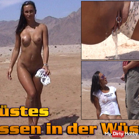 Wasting piss in the desert