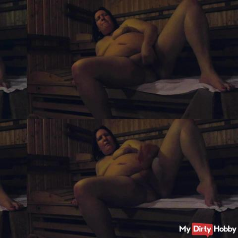 Pussy games in the sauna Part 2