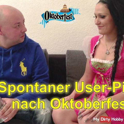 Spontaneous User Piss after Oktoberfest