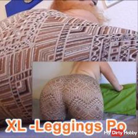 XL Leggings Po - Her with your cream