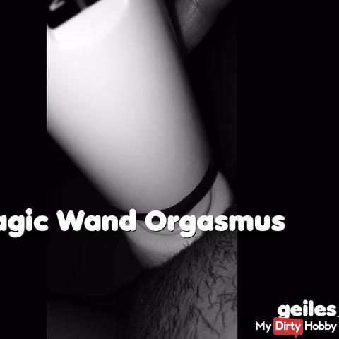 Magic Wand orgasm