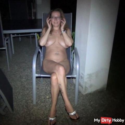Vom Taxifahrer Outdoor Nachts gefi**t