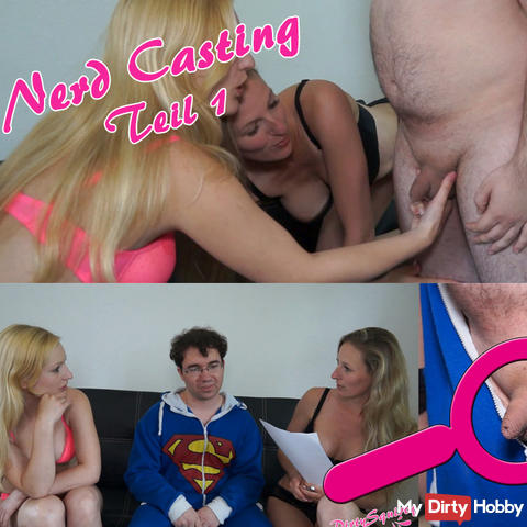 Nerd Casting with my sweet girlfriend CamAngel