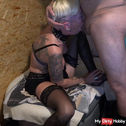 brutally fucked in the mouth and sprayed pure ......