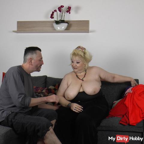 Tits-grandma fumbled - fetish