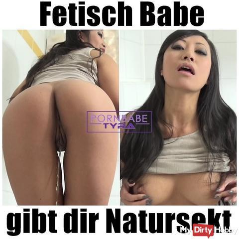 Fetisch Babe gibt dir Natursekt