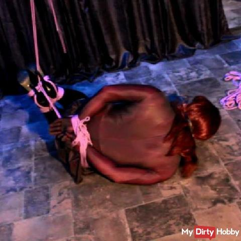 Bondage bet with Lisa-Bode-Bondage 2 Hogtied -