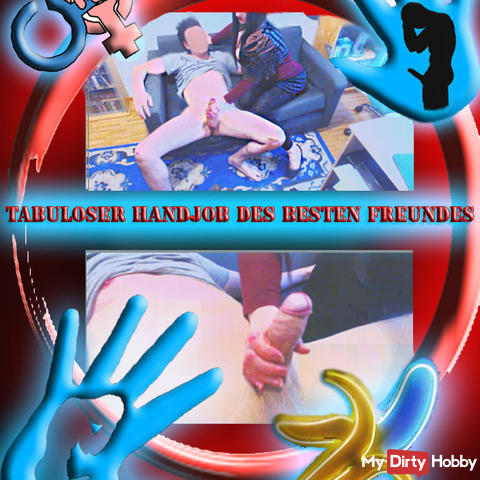 Tabless hand job of the best friend