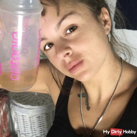 Trink mein NS / während meiner Webcam Pause