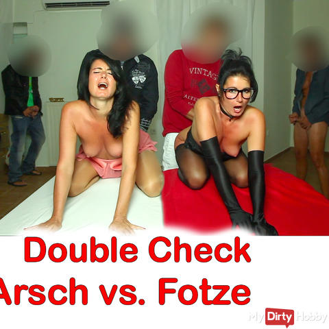 Double-Check, Ass vs. Cunt. The hole comparison