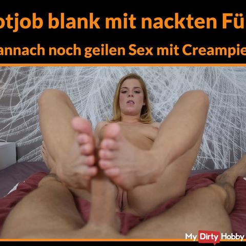 Are you looking for naked footjobs with horny sex and creampie?