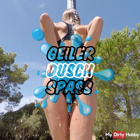 Geiler Dusch Spass