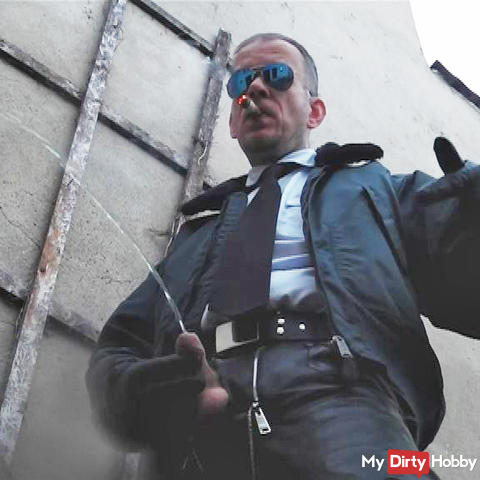 LeatherCop16 Cigar  Piss