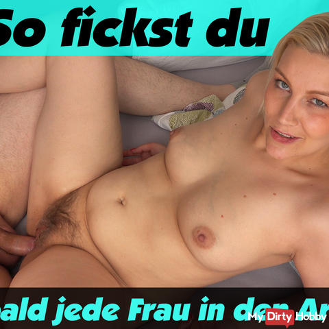 Anal Fickanleitung, so you get your wife to ass fucking around!
