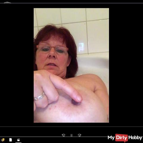 nipple games in the bathtub