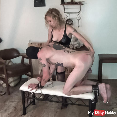 I fill his greedy pig whore asshole and bust some balls part 2 of 3