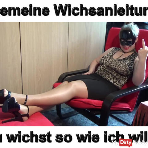 Common Wichsanleitung YOU jerks as I want that!