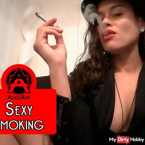 Sexy smoking 2