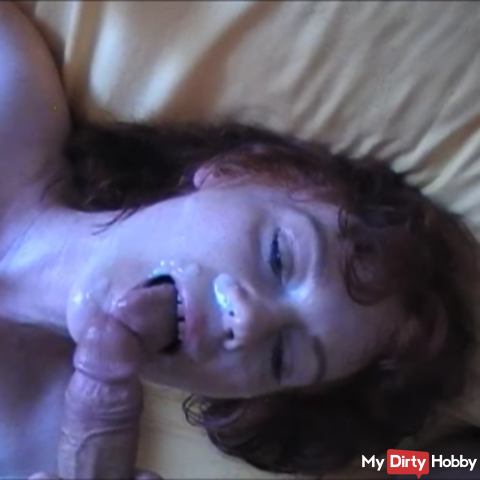 Cunt fucking and facial insemination ...