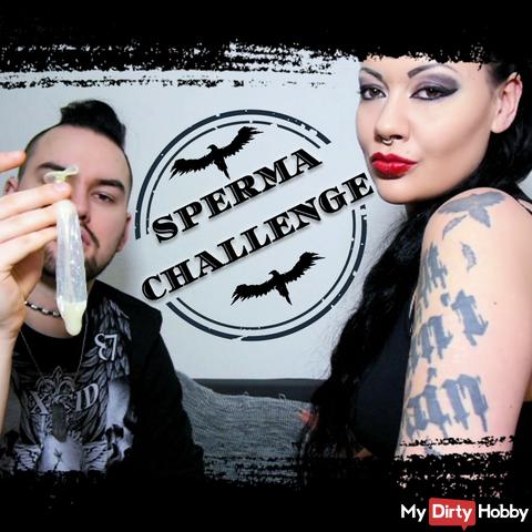 Défi de sperme