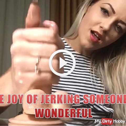 Die Freude am Jerking jemand ist wunderbar